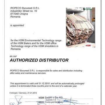 Autorizatie HSM 2015