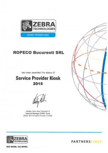 Certificat Zebra
