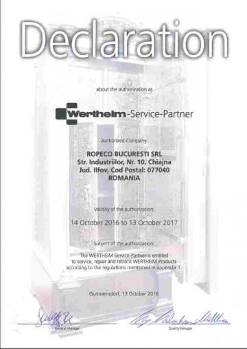 Wertheim 2017_service