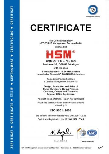 Certificare HSM