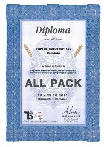 Diploma ALLPACK