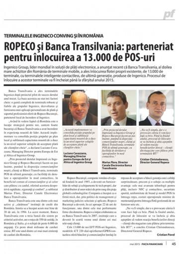 Ropeco si Banca Transilvania2