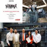Ropeco cea mai buna cifra de afaceri pe piata din Europa la echipamentele marca germana HSM