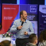 La evenimentul retailArena2018 , invitatul special din partea companieiRopeco Bucuresti, Martin Shires, Business Development and Marketing ManagerGlory Global Solutions