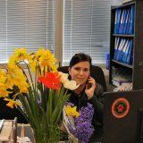 Început de primăvară cu un zâmbet și o floare la compania ROPECO BUCURESTI