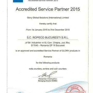 Autorizatie Glory Global Solutions