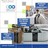 Soluția pentru front office-ul unui magazin comercial, CASHINFINITY CI-10, de la GLORY GLOBAL SOLUTIONS